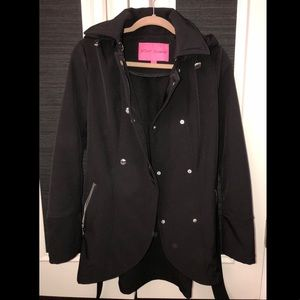 Never worn waterproof coat by Betsy Johnson!